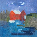 Vid havet - At the sea 65x65