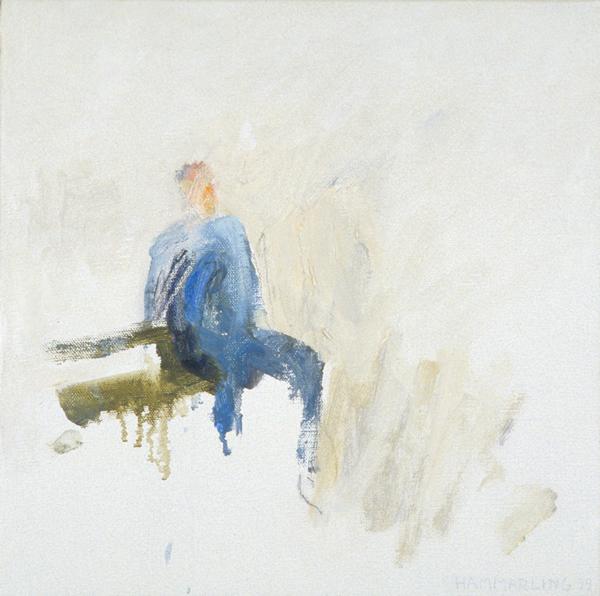 På bänken - On the bench 32x32