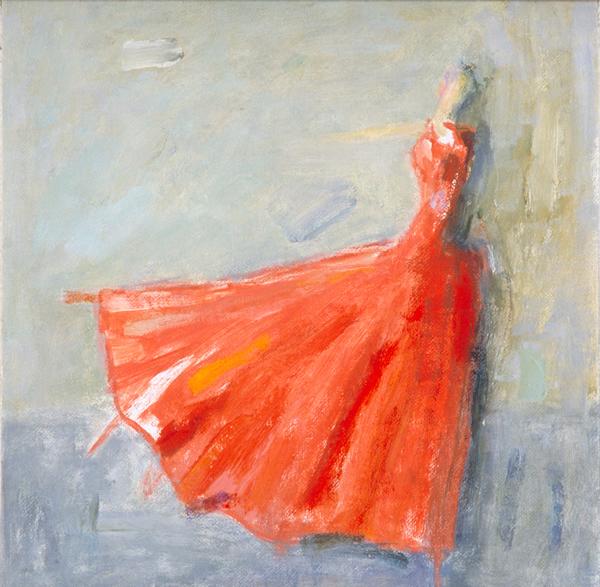 Det är hennes dans - It´s her dance 32x32
