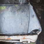 His favorite hood - 120x150 Acrylic on canvas