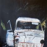 Somewhere in Värmland - 120x150 Acrylic on canvas